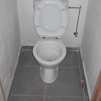 Vernieuwde toilet